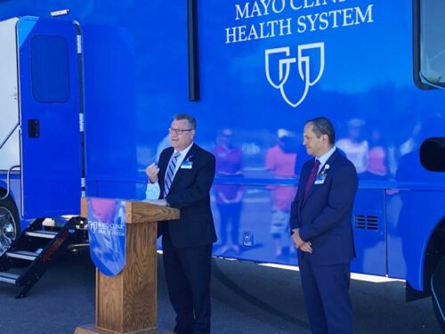 Mayo unveils mobile health clinic   News, Sports, Jobs