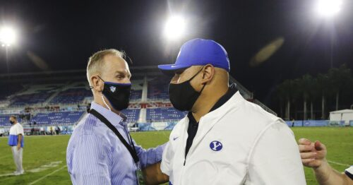 BYU sports: Climbing into the top 10 programs