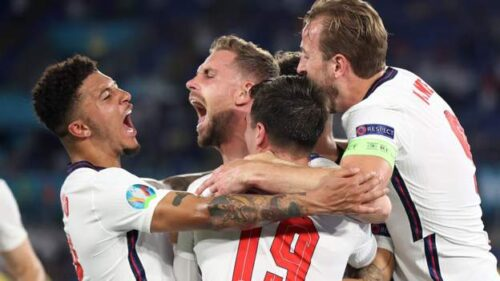 England into Euro 2020 semi-final: 'England fans transported to unfamiliar world'