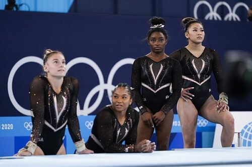 Black gymnasts on rise in sport