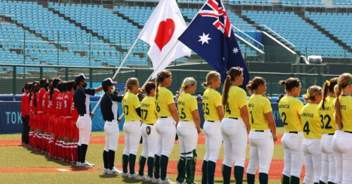 Olympics Softball-Japan, rivals dominate their openers as Games action begins