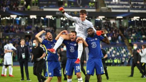 Chelsea win Super Cup: Kepa goes from penalty villain to hero